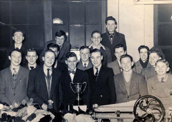 Shoemaking And Repair Night School Class c.1954