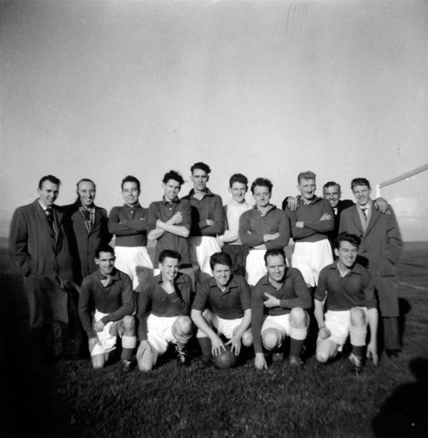 Links United Football Club Team, late 1950s
