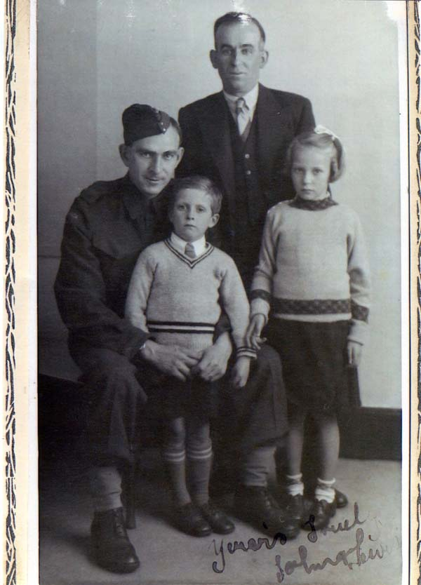 Studio Family Portrait c.1941