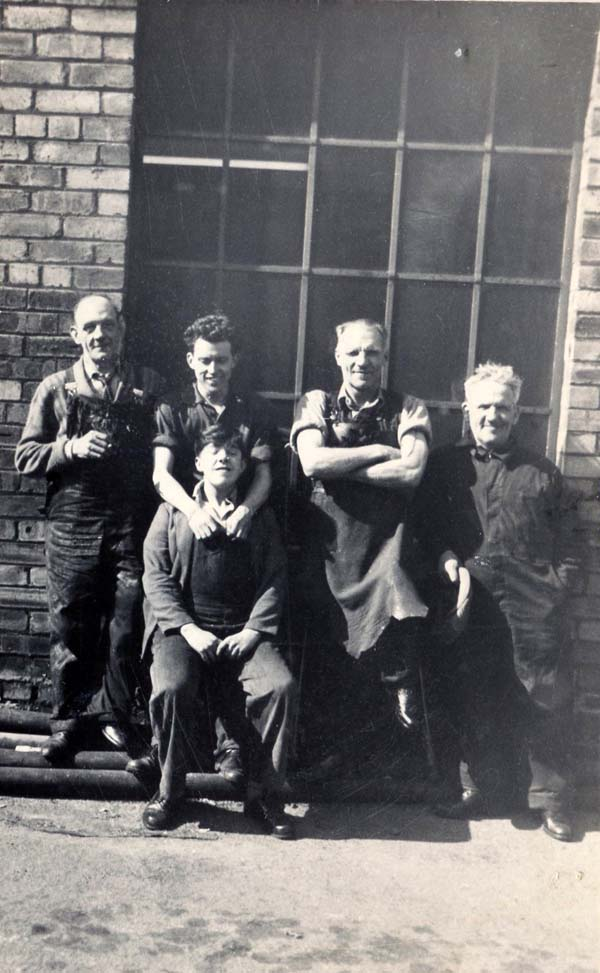 Leith Provident Shoe Repair Factory Staff Members, late 1950s