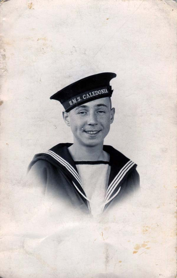 Royal Navy Sailor Cadet c.1938