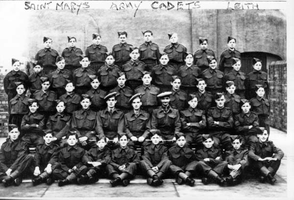 St Mary's Army Cadets 1942