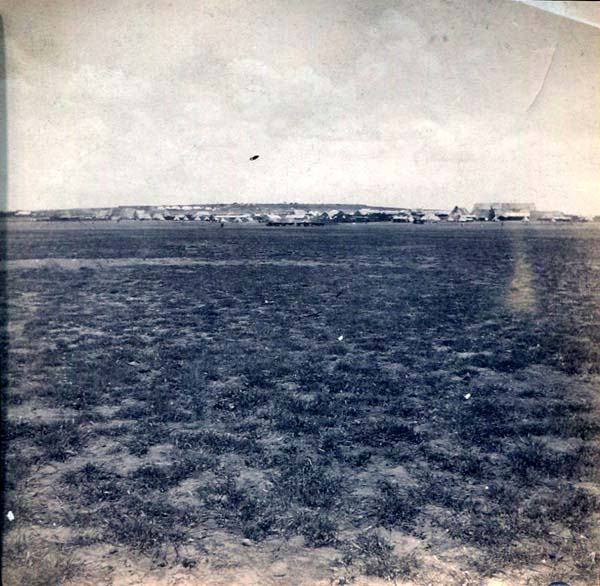 Plain With Army Camp In Distance, Boer War 1899-1902