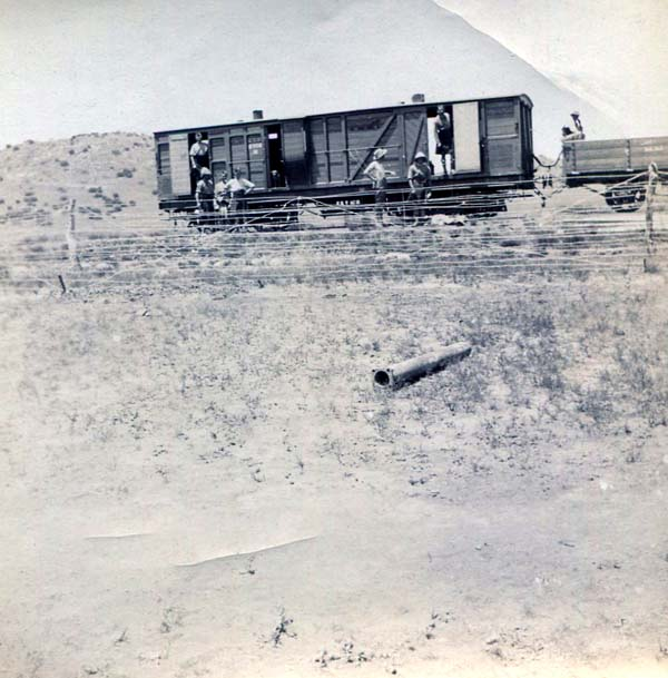 Railway Wagon, Boer War 1899-1902