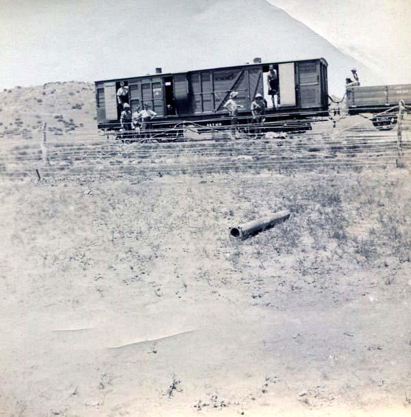 Railway Wagon, Boer War 1899-1902
