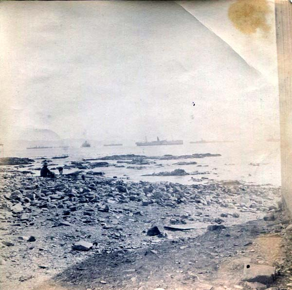 Ships At Sea In The Distance, Boer War 1899-1902