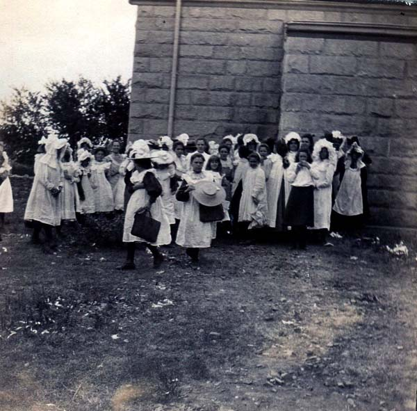 South African Schoolgirls At Time Of Boer War 1899-1902