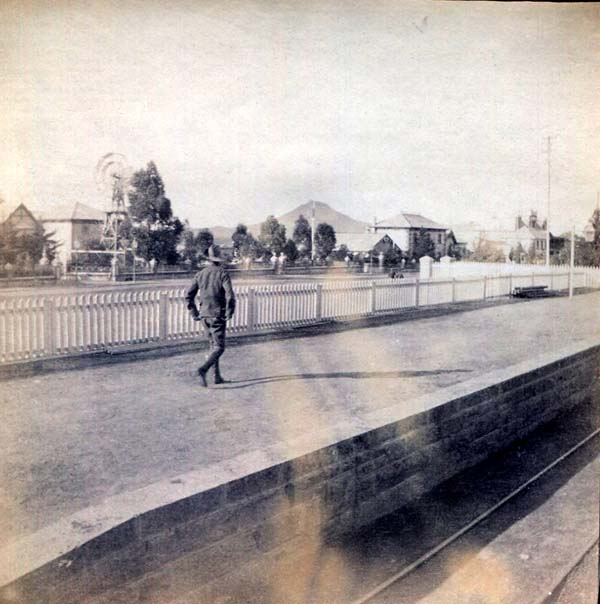 Station Platform Unidentified Town, Boer War 1899-1902