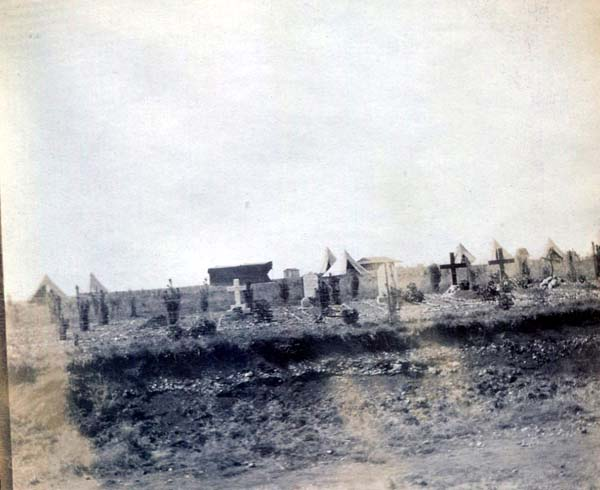Graveyard Crosses, Boer War 1899-1902