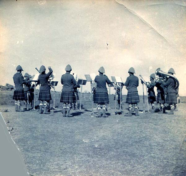 Seaforth Highlanders Band, Boer War 1899-1902