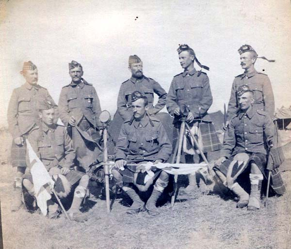 Soldiers With Signalling Equipment, Boer War 1899-1902