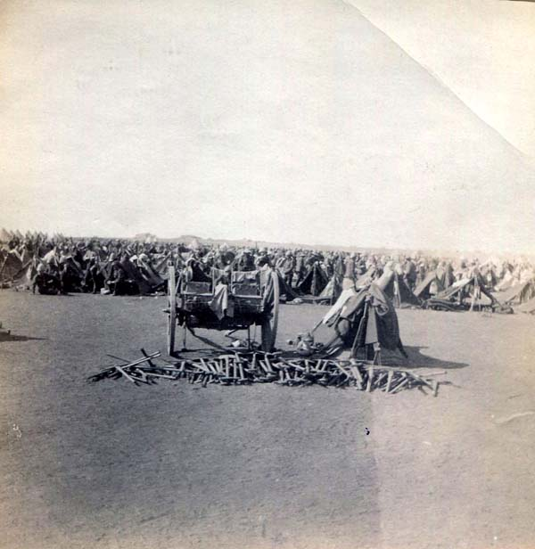 Large Camp Settlement, Boer War 1899-1902