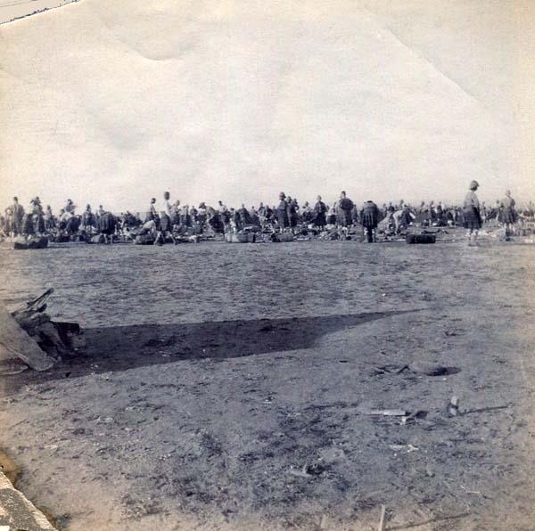 Setting Up Or Leaving Camp, Boer War 1899-1902