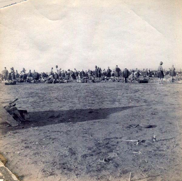 Setting Up Or Leaving Camp, Boer War 1899-1902