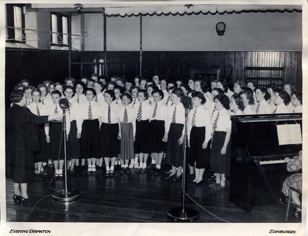 Leith Academy Girls Choir BBC Radio Broadcast 1952