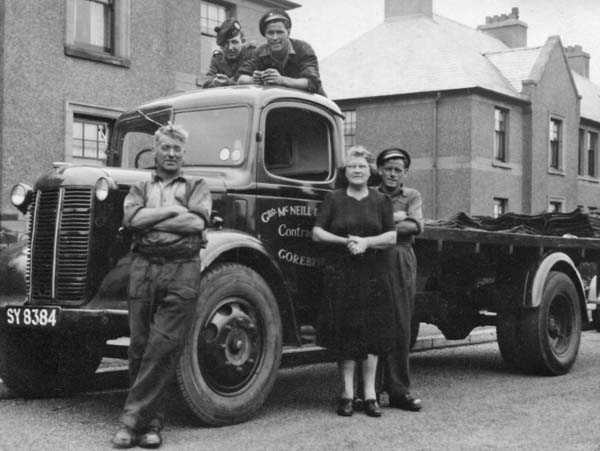 Family Coal Delivery Business c.1950