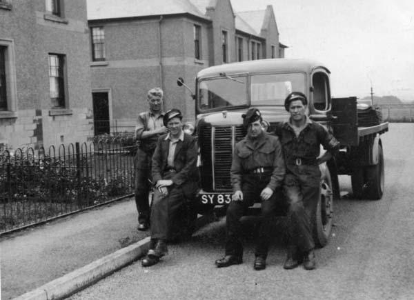 Family Coal Delivery Merchants c.1950