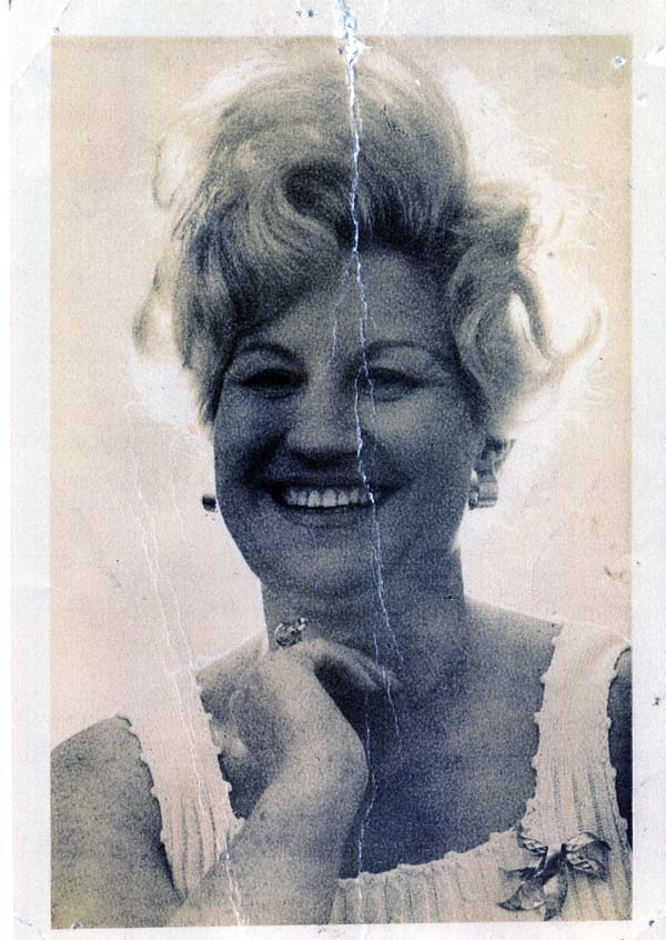 Daily Record Barmaid Of The Year 1970