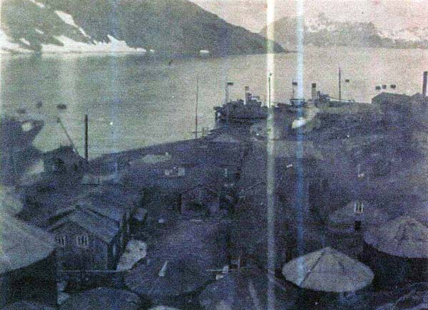 Whaling Station At Leith Harbour, South Georgia c.1937