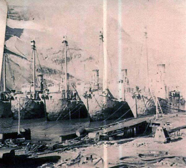 Whaling Ships c.1937
