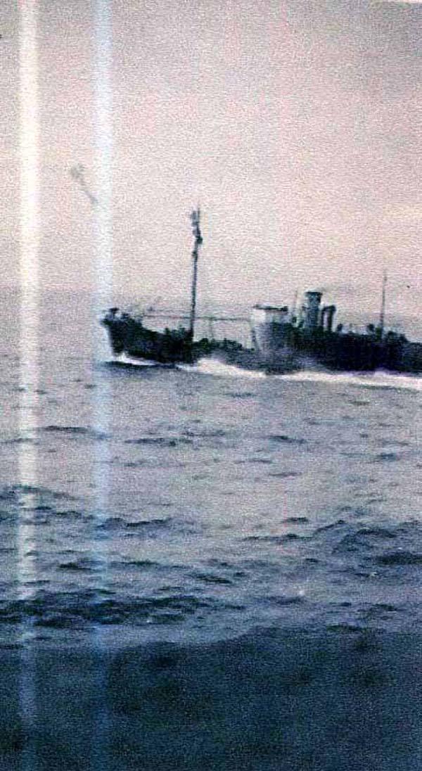 Whaling Ship at Sea c.1937