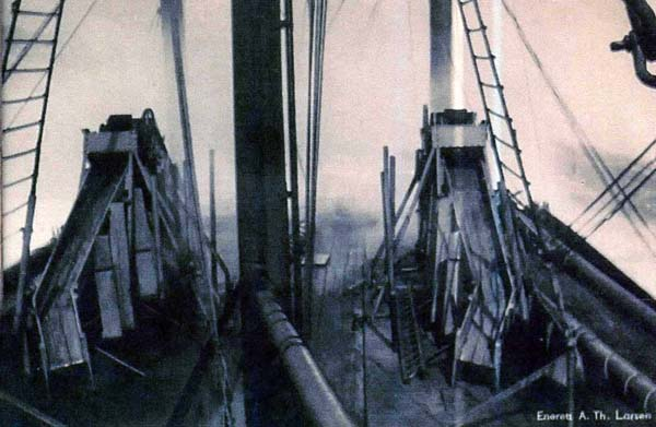 Partial View of Whaling Ship Deck c.1937