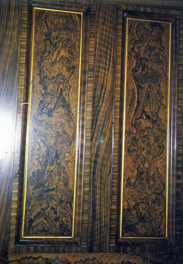 Walnut Grained Panel c.1990