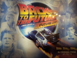 Back to the Future, Future Day poster
