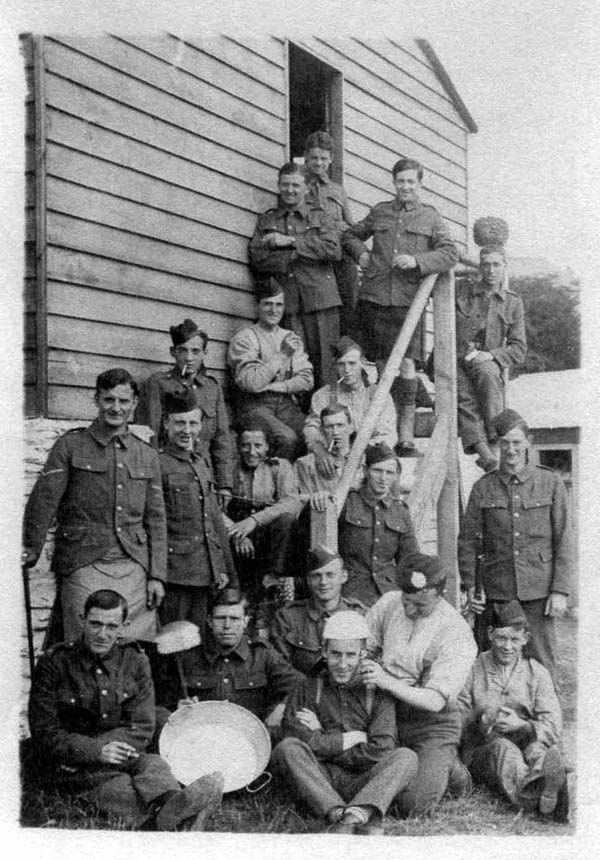 Group Of Soldiers At Their Quarters 1914-18