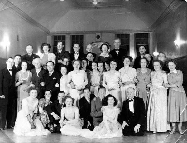 Raimes Clark & Co Staff Evening Out 1950s