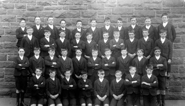 St Anthony's School Class Portrait 1920s