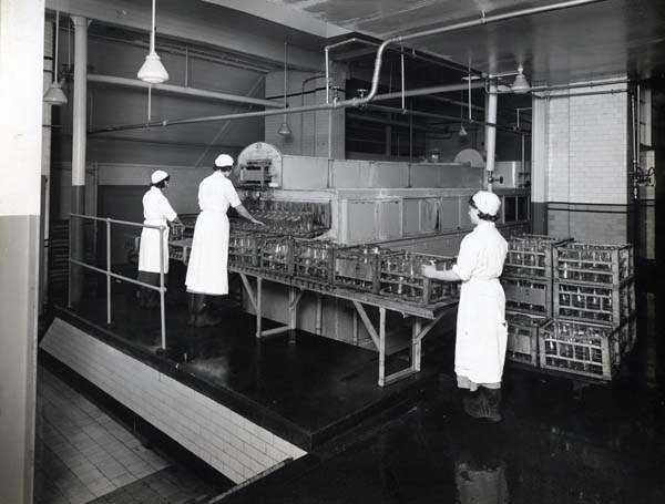 Women Working On Production Line At Leith Provident Dairy 1930s