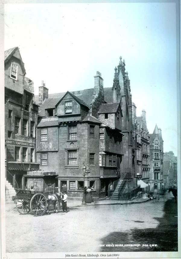 John Knox's House c.1890