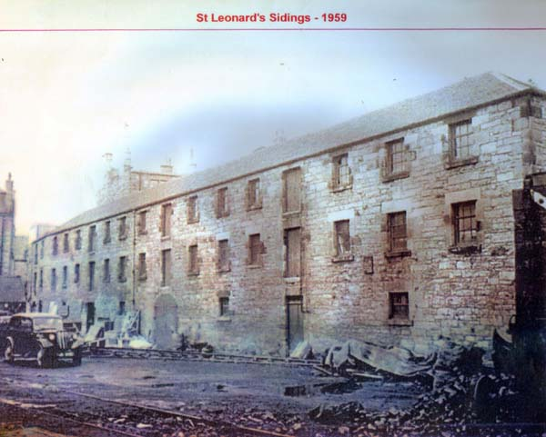 Bonded Warehouse At St Leonard's Sidings 1959
