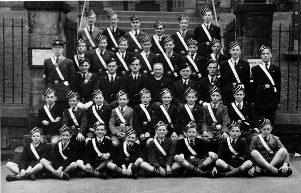 20th Leith (Newhaven) Boys Brigade c.1951
