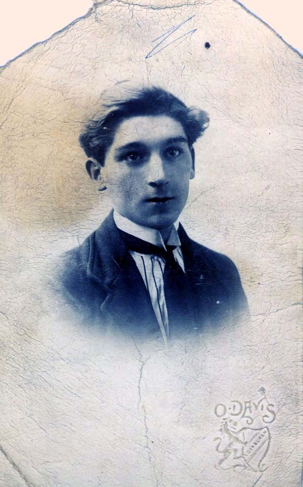 Studio Portrait Young Man c.1900