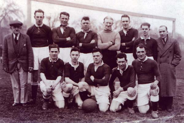 Leith Athletic Football Club Team, early 1930s