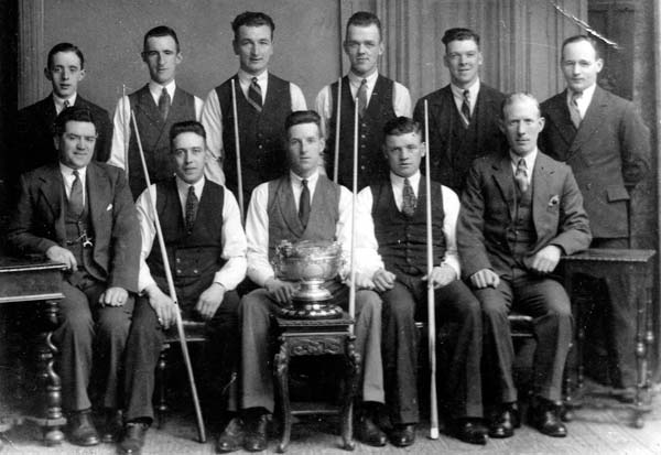 Leith Billiards Team, early 1930s
