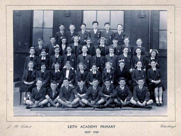 Leith Academy Primary Six Class, May 1949