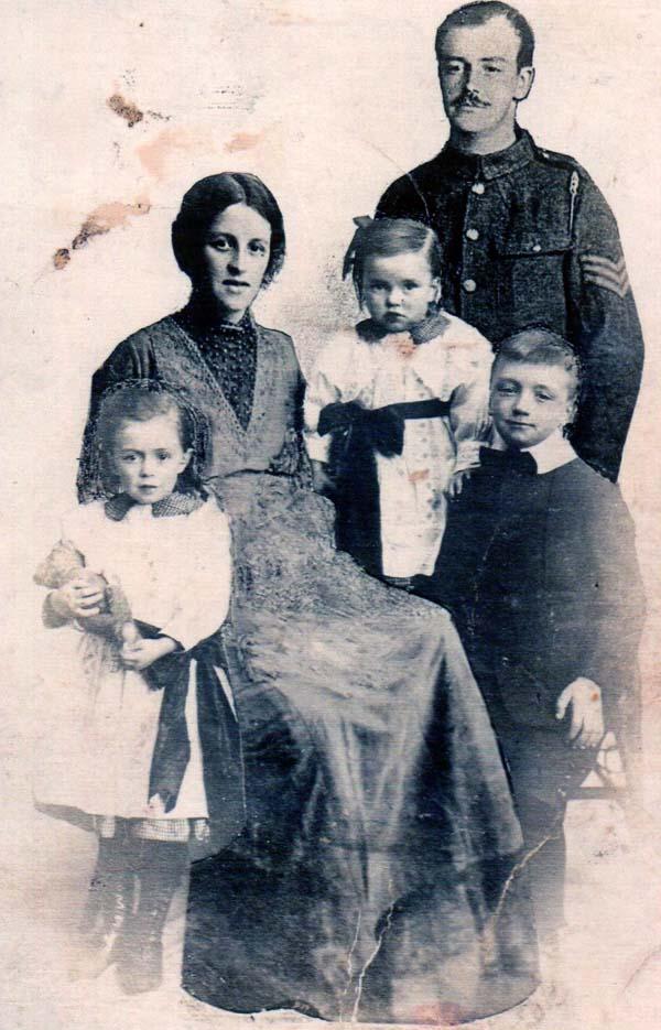 Studio Family Portrait 1914