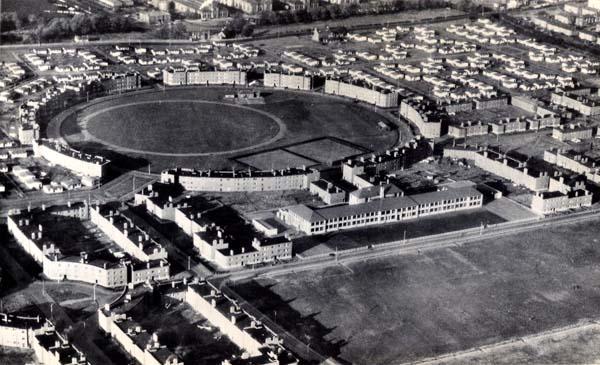 Aerial View Of Craigmuir School, West Pilton 1954