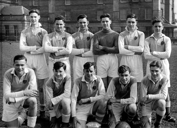 1st Leith Boys Brigade Football Team 1952-53