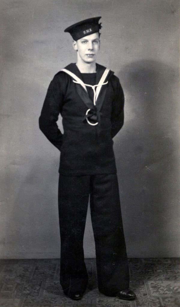 Studio Portrait Sailor At Ease c.1942