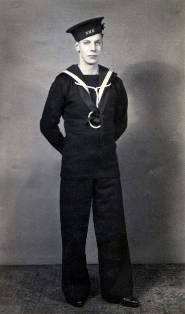 Studio Portrait Sailor At Ease c.1942
