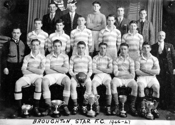 Broughton Star Football Club Team 1946-47