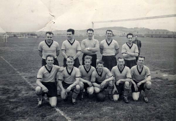 Leith Tramway Depot Football Team c.1957