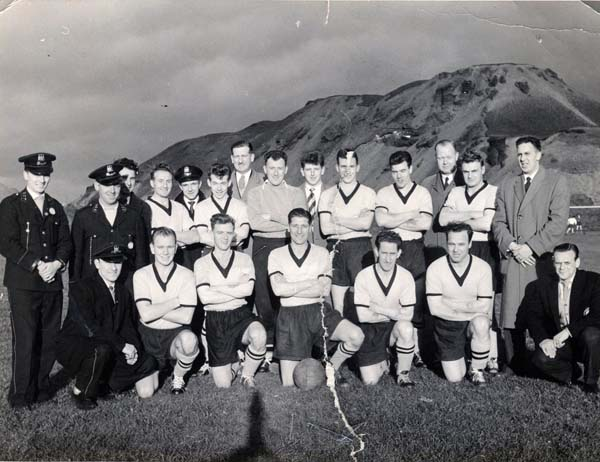 Leith Tramway Depot Football Club Team 1957