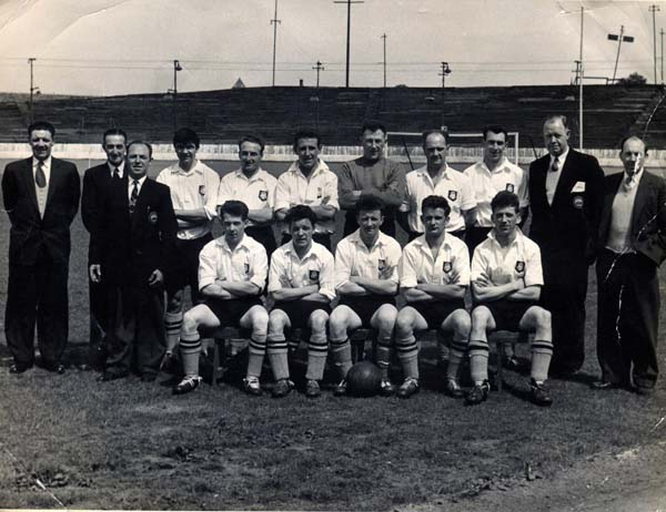 Edinburgh Corporation Transport Football Team 1950s