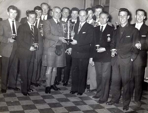 Winners Of The Inter-City Cup c.1959