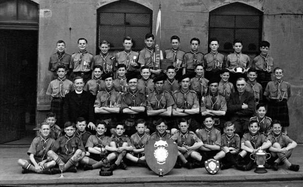 Group Portrait 6th Leith Scouts c.1945